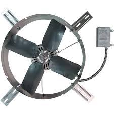 crawl space ventilation fan tpi gable mount exhaust fan u2014 1 300 cfm model gv 405 2b gable