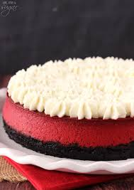 red velvet cheesecake life love and sugar