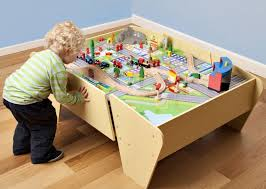 table toys play table plum train and track play table gym fitness