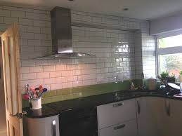 Kitchens With Tiles - tiled kitchens chic design 2 kitchen walls great green tile on