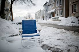 4 things to about space savers in boston wbur news