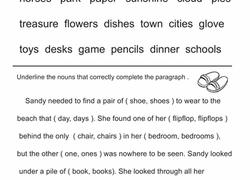 plural nouns worksheets education com