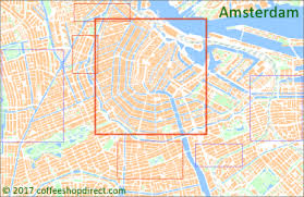 where is amsterdam on a map map of open amsterdam coffeeshops 2017 acd