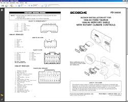 ford taurus stereo wiring diagram floralfrocks