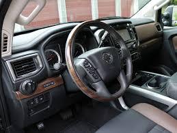 nissan titan interior 2016 2016 nissan titan xd platinum reserve 4x4 test drive review