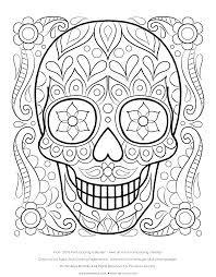 bold inspiration sugar skull coloring pages sugar skulls cecilymae