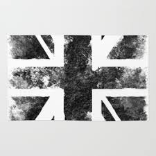 Purple Union Jack Rug Uk Rugs Society6