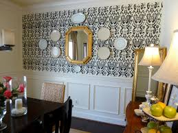 Wallpaper Designs For Dining Room Dear Ikat Olive You Our Fifth House