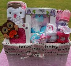 baby owl baby shower theme premium plus baby gift basket