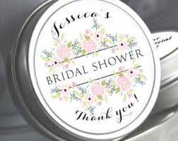 personalized bridal shower favors bridal shower favors etsy