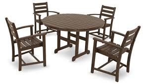 Patio Furniture Made From Recycled Plastic Milk Jugs Amazon Com Trex Outdoor Furniture By Polywood 5 Piece Monterey