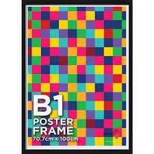 b1 poster frame black officeworks