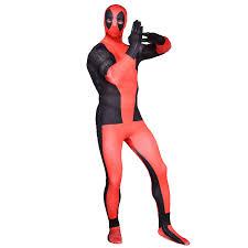 Deadpool Halloween Costume Deadpool Costume Superhero Zentai Body Suit Halloween