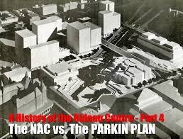 Rideau Centre Floor Plan by Rideau Centre History Part 4 Nac Vs The Parkin Plan Urbsite