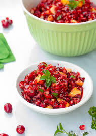 pomegranate apple cranberry relish a spicy perspective