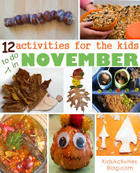 12 november activities to celebrate thanksgiving