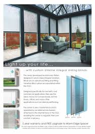 Blinds Northwest Integral Blinds Nw Rooftech