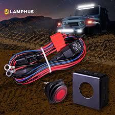 american made led light bar amazon com lamphus 17 off road atv jeep led light bar wiring