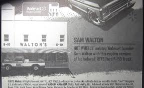 walmart monster jam trucks model of the day wheels walmart exclusive sam walton u002779 ford