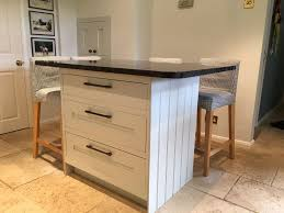 freestanding kitchen island freestanding kitchen island 3 large draws complete with granite