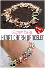 bracelet craft diy images Diy heart bracelet valentine 39 s day crafts unleashed jpg