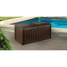 Keter Bench Storage Sumatra Deck Box Keter 026 Keter 150 Gallon Patio Storage Bench
