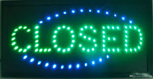 shop open sign lights 2018 closed shop led 19x10 sign bright store neon bar close animated