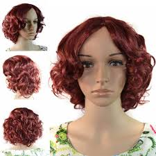 wigs ww2 09 fashion synthetic hair wig short hair tight curl with
