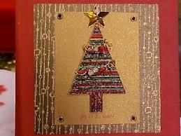 brown christmas cards how to make a mizuhiki christmas tree card hgtv
