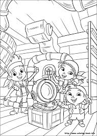 jake land pirates coloring picture coloring