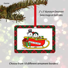 personalized christmas ornaments chuckies gifts cartoons