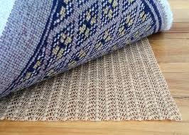 Woven Vinyl Rugs 3 Materials Of Rug Pad Safe For Hardwood Floors Floortip Com