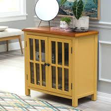 bayside furnishings accent cabinet accent furniture cabinet living 2 door accent cabinet yellow bayside