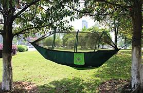 everking double camping hammocks with mosquito net lightweight