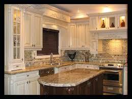 kitchen backsplash ideas with off white cabinets tile unique cheap