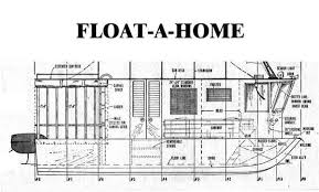 Free Wood Boat Plans Patterns by House Boat Plans Diy Designs
