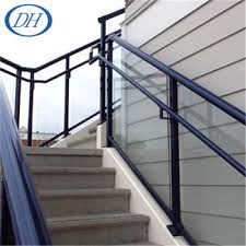 Metal Handrail Lowes Outdoor Stair Railing Banister Handrails For Outdoor Steps