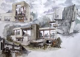 take off your cool architectural research c oncept and s ketch