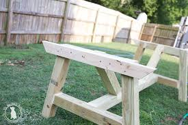 build your own outdoor table how to build an outdoor farmhouse table the handmade home