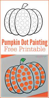 free printable halloween worksheets for kids pumpkin do a dot worksheet pom poms worksheets and free printable