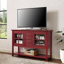 console table tv stand walker edison 52 inch wood console table tv stand bed bath beyond