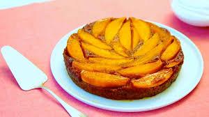 video mango banana rum upside down cake martha stewart