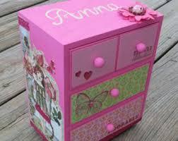 personalized girl jewelry box custom personalized girl jewelry box custom box shades of pink