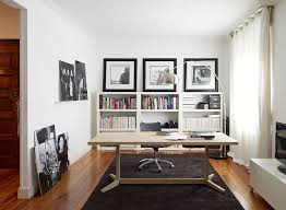 Modern Contemporary Home Office Desk 30 Black And White Home Offices That Leave You Spellbound