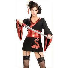 Halloween Costume Ninja Japanese Animation Ninja Warrior Women Skirt Halloween