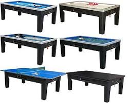 pool and air hockey table 6 in 1 combo game table pool air hockey ping pong roulette poker