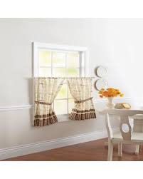 Kitchen Curtains On Sale by Spring Sales On Better Homes And Gardens Café Valance