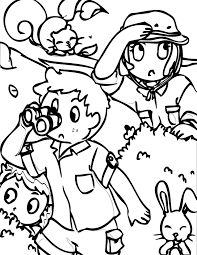 safari themed coloring page handipoints