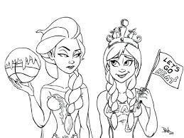 free frozen coloring pages print pictures style