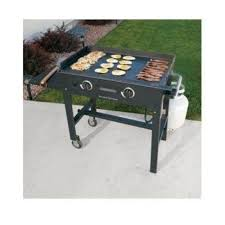 Outdoor Flat Grill Cooktop Propane Griddle Ebay